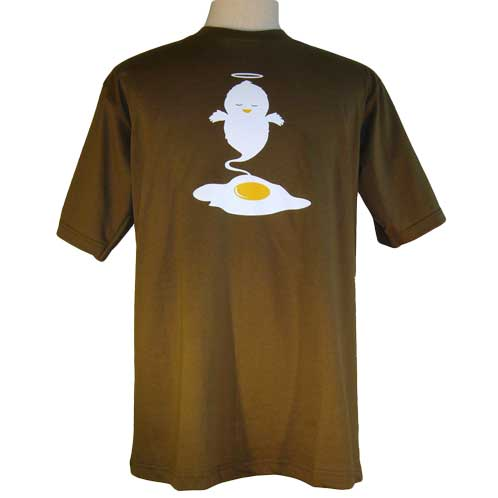 Egg Angel Shirt – Funny Egg to Chick Angel Tee – Baby Chicken Ghost