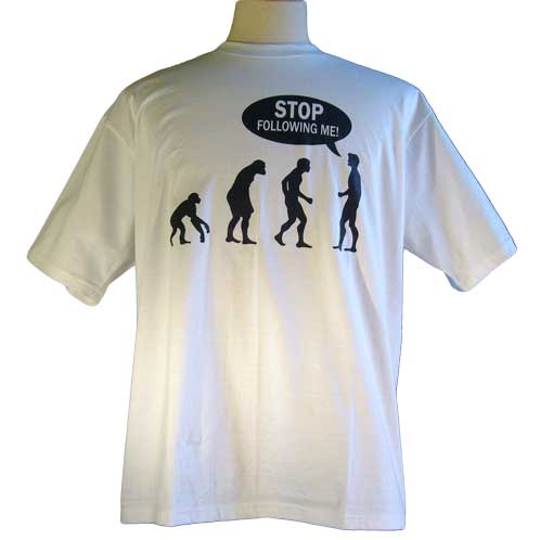 Stop Following Me – Funny Tee